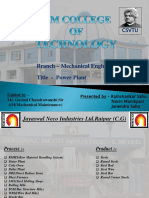 Coke Oven Power Plant PPt In