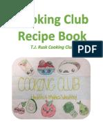 Cooking Club Recipe Book