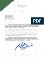 Gov. DeSantis Elections Letter
