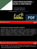 Educação e Tecnologia - Aula 1