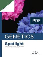 GENETICS Spotlight 2018