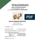 GUIA Trab. Prácticos Mat. Fciera CP 1° parte - 2019