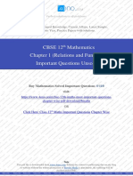Class 12th Maths Chapter 1 (Relations and Functions) Unsolved.pdf
