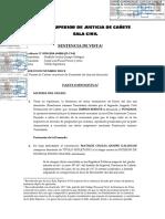 Título supletorio - Sentencia - título imperfecto Perú