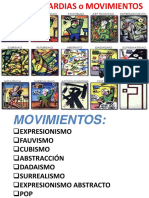 Movimientos arte vanguardia