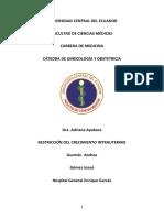 RESTRICCIÓN DEL CRECIMIENTO INTRAUTERINO UNIDO.docx