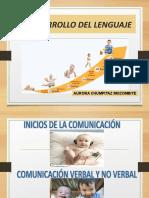 El lenguaje y etapas de desarrollo