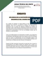 ENSAYO- Influencia de La Cavitacion 13-05-2019