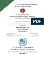 Shazli Internship Report 123