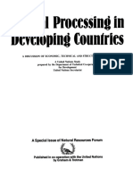 - Mineral Processing in Developing Countries_ A Discussion of Economic, Technical and Structural Factors (1984, Springer Netherlands).pdf