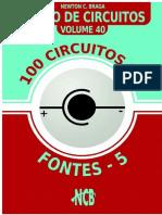 100 Circuitos de Fontes 5 - Banco de Circuitos - Vol 40.pdf