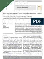 recovery molibdenite.pdf