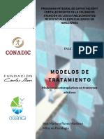Tema. Modelos de Tratamiento