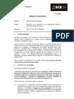 Opinión OSCE 059-12-2012 - Ejecución de Garantías de Fiel Cumplimiento
