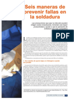 AQUI-6 Maneras de Prevenir Fallas en La Soldadura