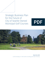 Lund Golf Study Executive Summary