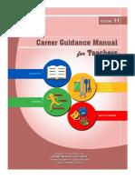 G11 Career Guidance Manual for Teachers