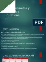 Estequiometria y Cálculos químicos.pdf