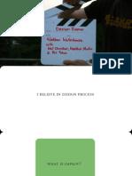 Design Improv Thesis Presentation Interaction Ivrea