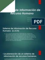 Sistemas de Informacion de Recursos Humanos