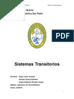 Laboratorio 5 Sistemas Transitorios