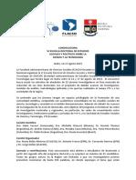 CONVOCATORIA VI ESCUELA DOCTORAL DE ESTUDIOS SOCIALES Y POLÍTICOS SOBRE LA CIENCIA Y LA TECNOLOGÍA
