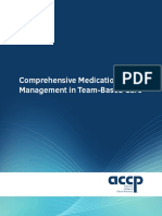 ACCP - Comprehensive Medication Management in Team-based Care