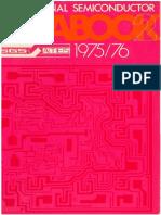 SGS Professional Semiconductor Databook 2 - Bipolar ICs - 1975 1976