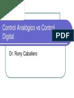 1 Control Analógico vs Control Digital