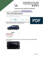Actualización mapas para VW Surán 2019