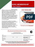 FNSA Sustaining Membership Form 2018