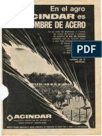 ACINDAR Industria Argentina de Aceros 1970