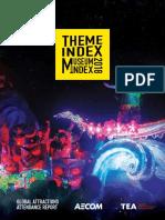 Theme park attendance report
