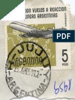 Aerolíneas Argentinas Estampilla 1959