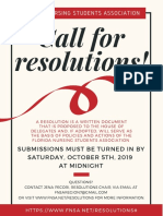Call for Resolutions 2019