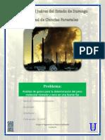 Análisis de Gases Para La Determinación Del Peso Molecular Húmedo y Seco en Una Fuente Fija.