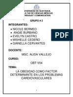 LA OBESIDAD COMO FACTOR DETERMINANTE EN LOS PROBLEMAS CARDIOVASCULARES.docx