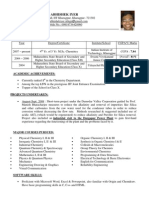 Resume (With Photo)