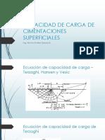 CAPACIDAD DE CARGA DE CIMENTACIONES SUPERFICIALES TERZAGHI.pdf