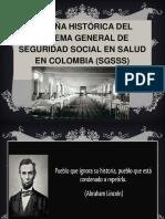 1 Historia de La Seguiridad Social en Colombia