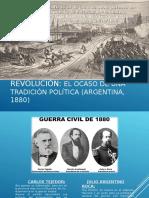 Presentacion de Historia de Argentina