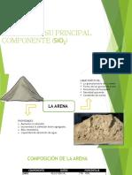 La Arena y Su Principal Componente (Sio2