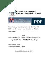 TESIS - Plan de Desarrollo Estratégico