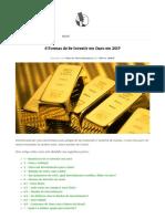 6 Formas de Se Investir Em Ouro Em 2017 _ Senhor Mercado