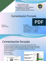 CEMENTACION FORZADA DIAPOSITIVAS