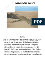 GEOMORFOLOGIA EOLICA