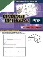 Technical Drawing _Unjuran Ortografik