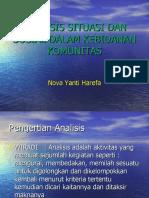 Analisis Situasi Dan Sosial