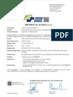 Zulassung Plastic Solutions SVGW Wavin TS DOQ Gas De