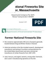 11-15-17 - Massdep National Fireworks Public Meeting Presentation